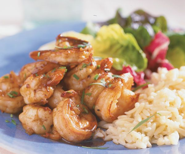 shrimp with buttery balsamic vinegar sauce sauteed shrimp shrimp ...