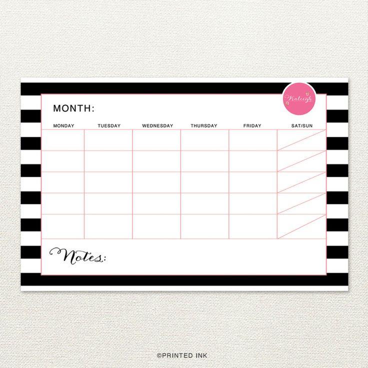 Best 25+ Calendar pad ideas on Pinterest | Diy note pad, Calendar ...