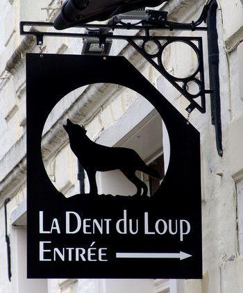 """Restaurant """"La Dent du Loup""""à Doullens, place Eugène Andrieu"""