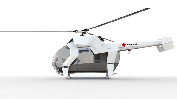 future helicopter design Jan Blaton Cyberfly