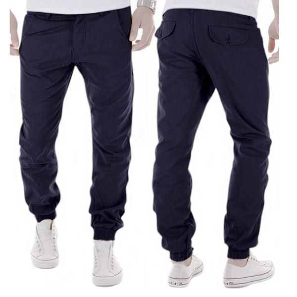 Free Shipping 5 Colors Asian Size M-XXL Fashion Joggers Men Casual Pants Men's Clothing Black Khaki Pants Trousers Spring A8884