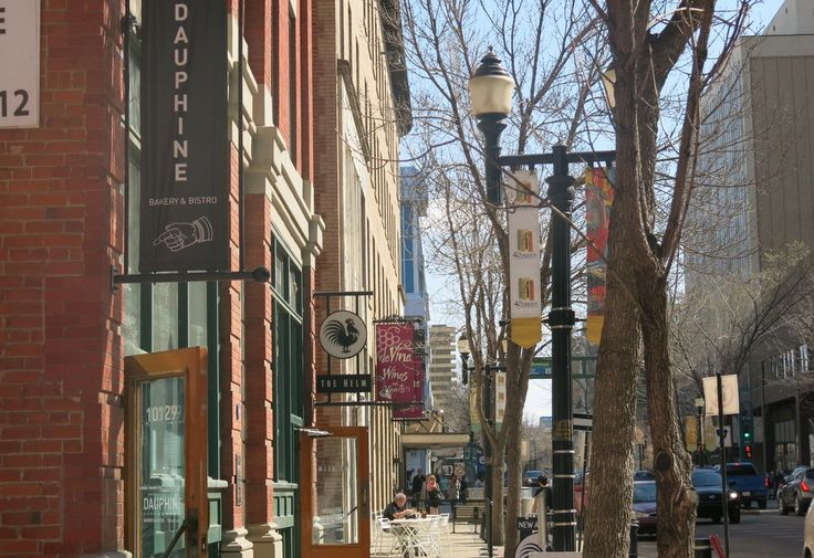 Look it's our street! Is Edmonton the next great Canadian city? Alberta's capital city is slowly gentrifying, with cool new bars and restaurants downtown and a new sense of optimism.
