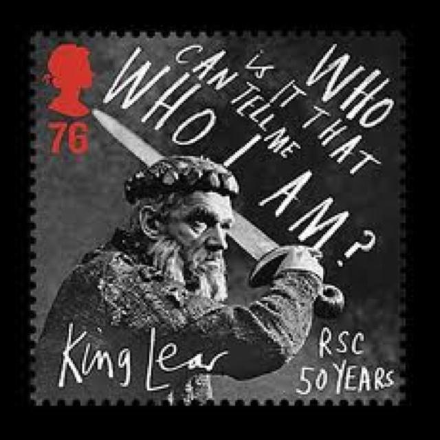 "British Stamp - Literary William Shakespeare's ""King Lear"""
