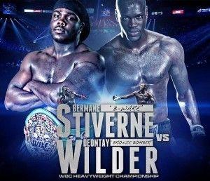 Watch Online fight Streaming Bermane Stiverne vs Deontay Wilder Live