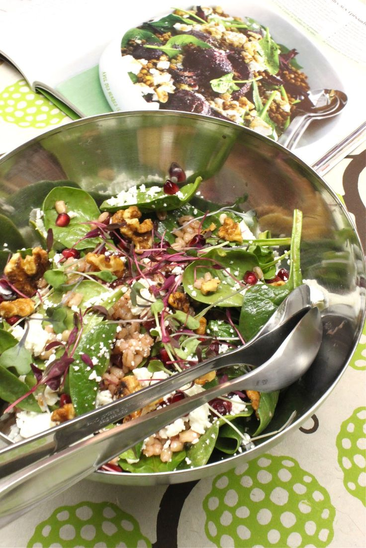 Petits repas entre amis salade d 39 orge pinards for Lunch entre amis
