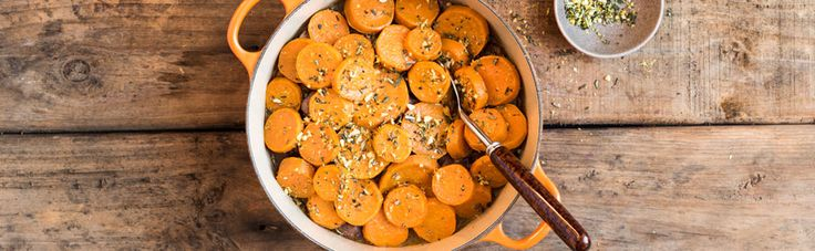 Venison and Sweet Potato Potjie Recipe | In true 'potjie' fashion, this recipe calls for a generous dose of wholesome ingredients that are slow-cooked to perfection. This venison variety meets its match with sweet potatoes, and you'll enjoy the enticing sauce with its combination of subtle sherry, rosemary and celery flavours. | Checkers - Better and Better #braai #meat #food #recipes #checkers