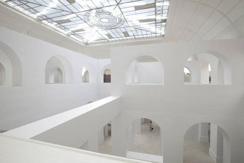 Confusion entre l'oeuvre d'art et le lieu d'exposition