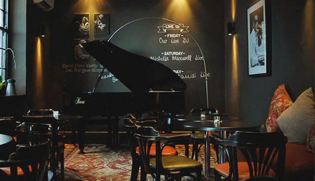 African jazz at Piano Bar in Cape Town