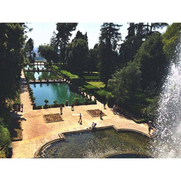 #tivoli #villa #deste #este #villadeste #italy #amazing #garden #fountains