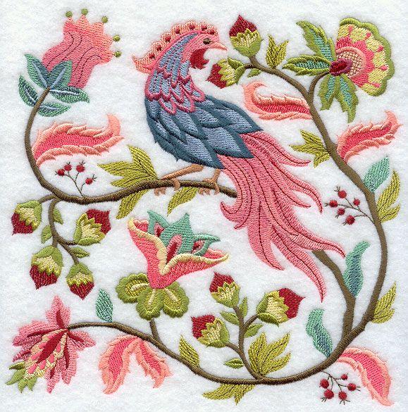 Машинной вышивки Дизайн в Вышивка библиотеки! - Изменение цвета - X0535