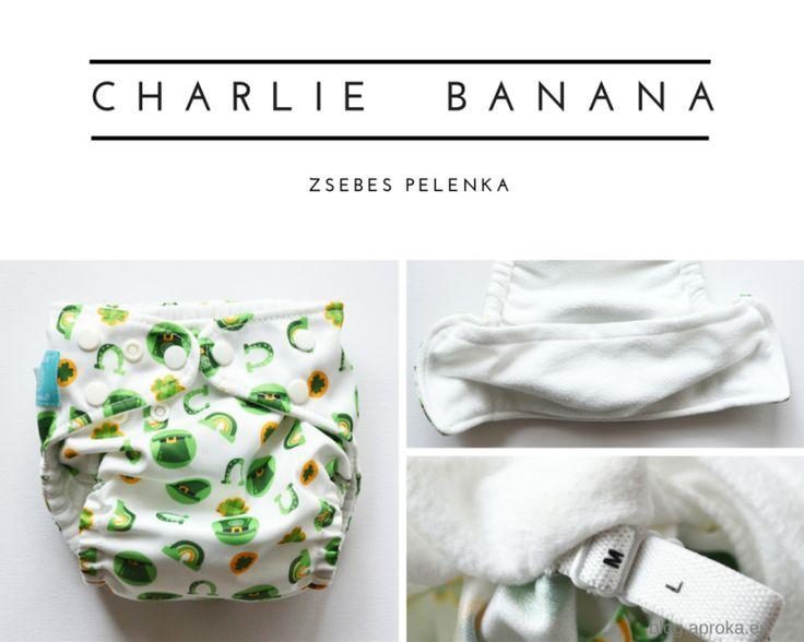 Charlie bana pelenka teszt az Apróka blogon