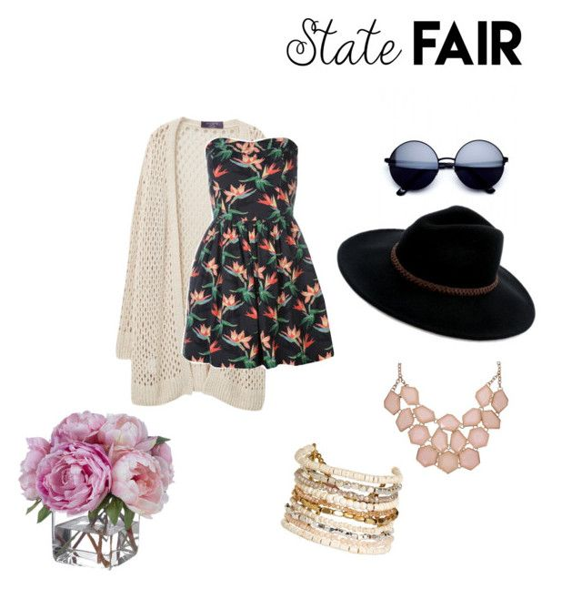 """Floral"" by badass-girly on Polyvore featuring Violeta by Mango, Billabong, Panacea, Diane James, statefair and summerdate"
