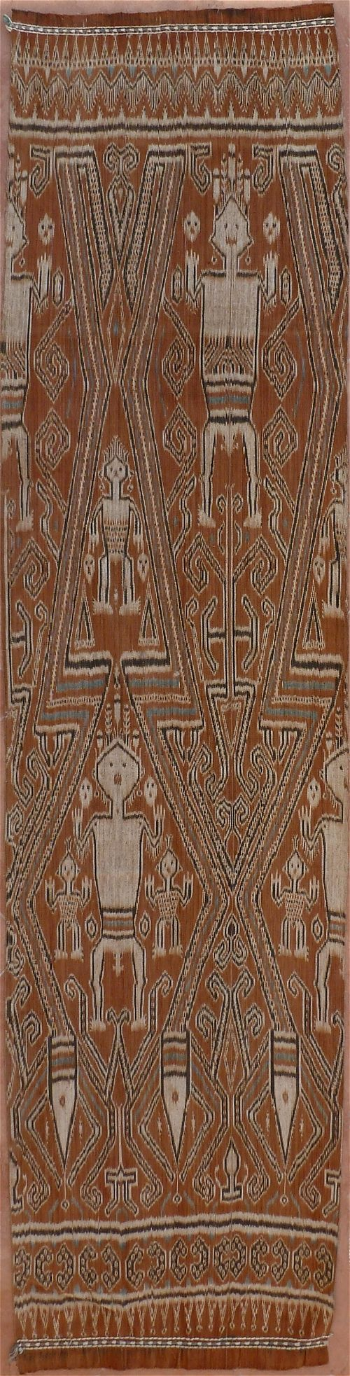 Pua Kumbu Ikat from Kalimantan, Borneo, Indonesia