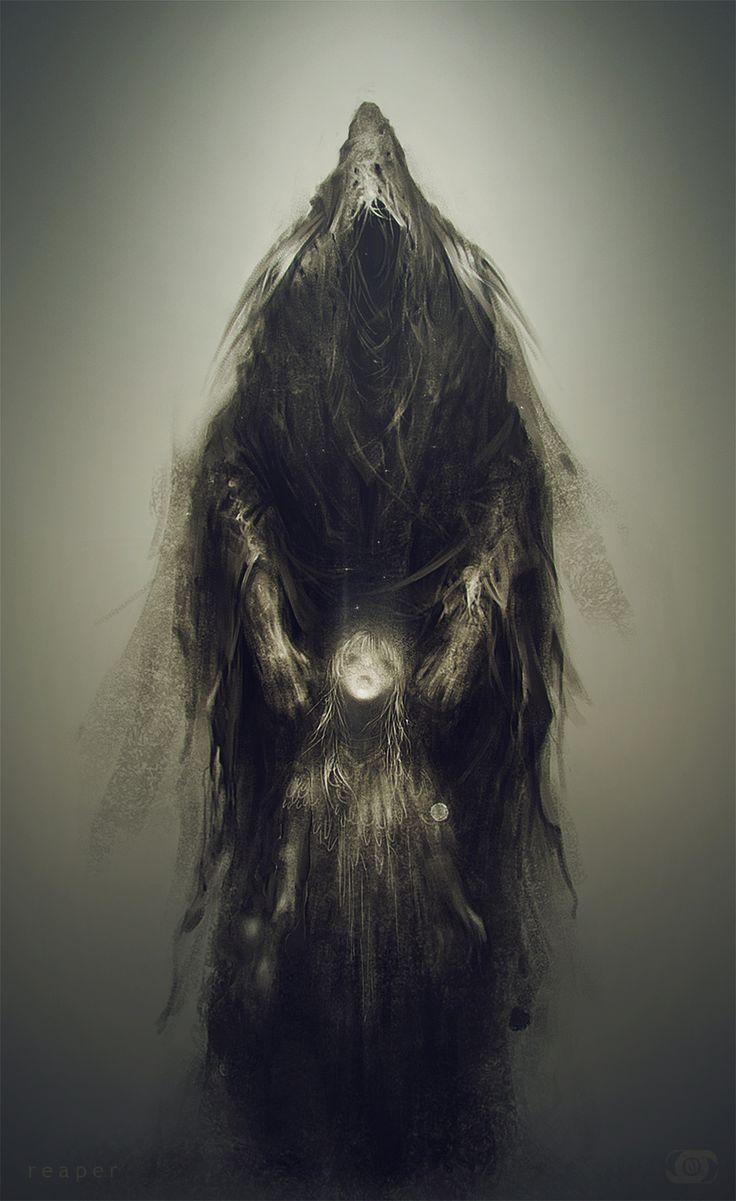 life and death. by Niko M   Fantasy   2D   CGSociety