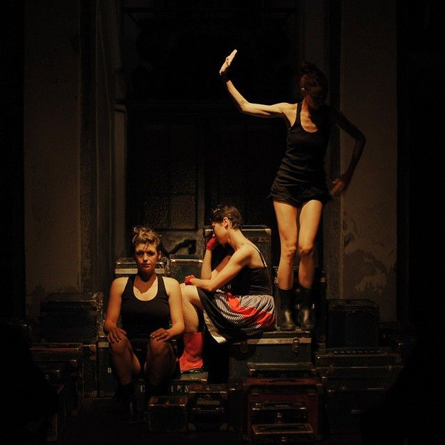 """(TRA) performing """"Pied à terre"""" at Omissis Festival #omissis2015"""