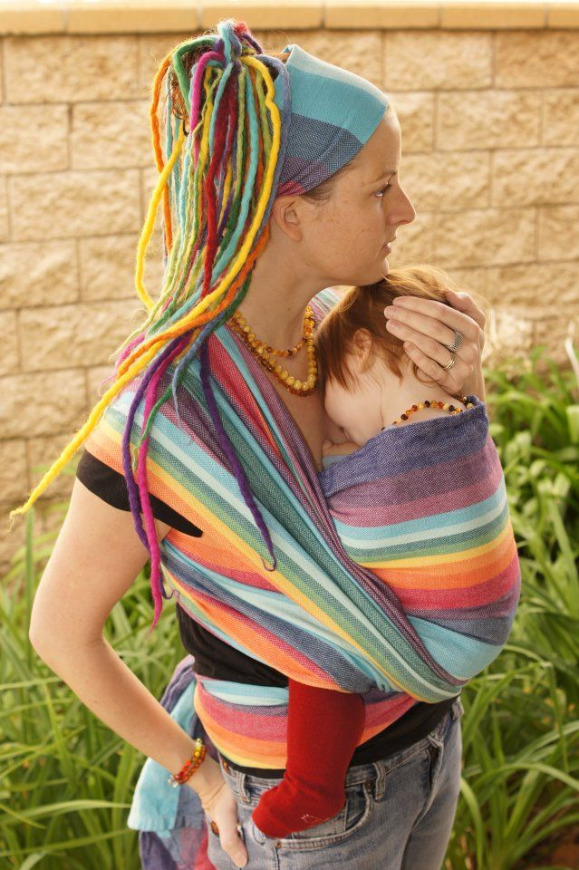 @PAXbaby Jillian Davidsson EXCLUSIVE Double Rainbow...one of the prettiest rainbows I've seen! LOVE her rainbow dredies & head wrap too! ;-)
