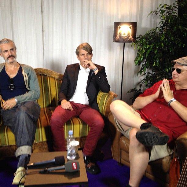 .@universalmusicswitzerland | #triggerfinger #gurtenfestival2013 #interview #srf