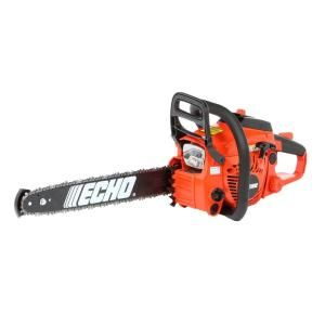 ECHO 18 in. 40.2cc Gas Chainsaw-CS-400-18 - The Home Depot