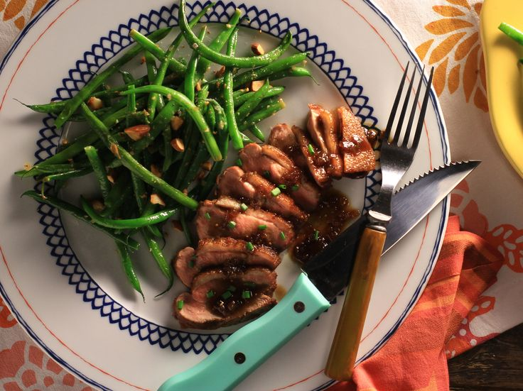 Seared Duck Breast with Fig Sauce Recipes Cooking Channel