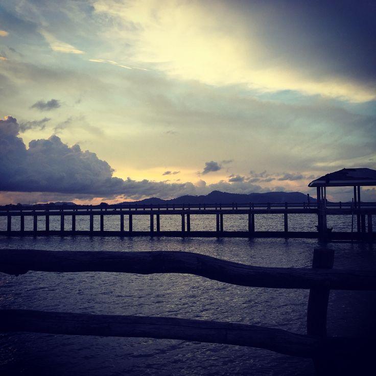 Phuket in the evening