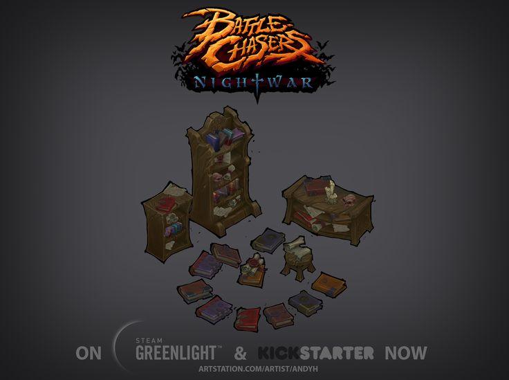 Battle Chasers Nightwar Kickstarter!!! - Polycount Forum