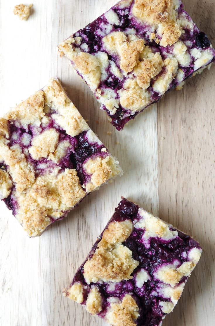 This weekend I am leaving you with the most amazing (AND EASY) recipe for  Blueberry Crumble Bars you will ever make. I love fruit desserts and so  does my husband. Sadly, I am pretty awful at making homemade pie crust that  tastes and LOOKS delicious, so while I work on my pie making skills, I  thought it would be fun to work on my bar making skills, too. Thankfully,  bars have been a million times easier to make and taste just as yummy (if  not yummier!).  I planned on sharing these…