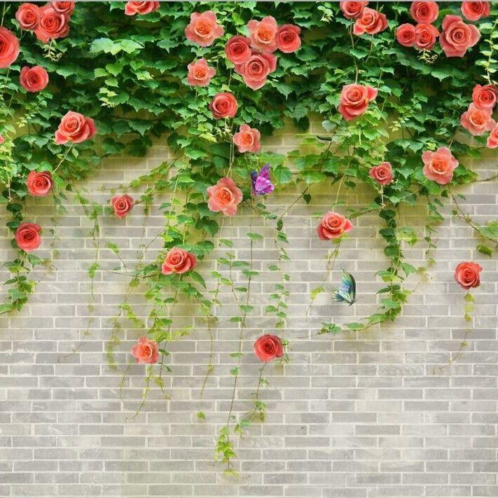 3d-087 alta qualidade 3d texturizado beleza da flor de papel de parede para casa-Pintura e caligrafia-ID do produto:60217721171-portuguese.alibaba.com