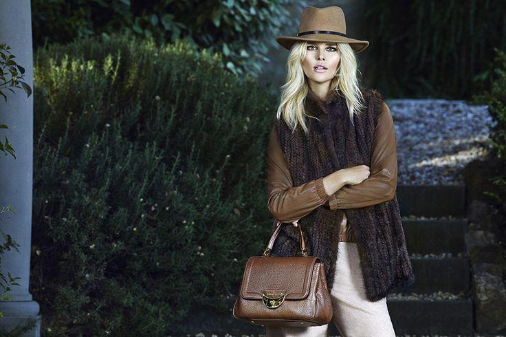 Luisa Spagnoli Fall Winter campaign 2015