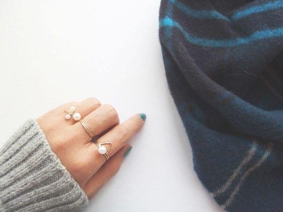 トライアングルリング|指輪|affinites