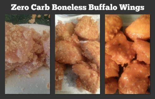 Zero Carb Boneless Buffalo Wings Zero Carb Boneless Buffalo