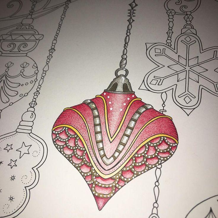 Johannaschristmas Christmas Prismacolor MagicalJungle JohannaBasford