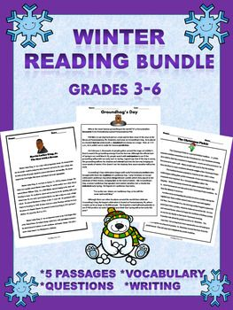5 Informational Reading Comprehension Passages. Each unit includes a reading passage, questions, and vocabulary. Some passages also include crossword puzzles. Bundle also includes bonus fact/opinion Superbowl worksheet.Units Include:- The Christmas Pickle-Martin Luther King, Jr.-Groundhog's Day-Abraham Lincoln's Beard-Valentine's DayThe passages are great for guided reading, cold reads, literacy centers, homework, or partner reading.