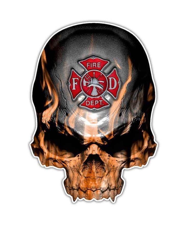 Welder Skull Flames Images Clip Art Google Search