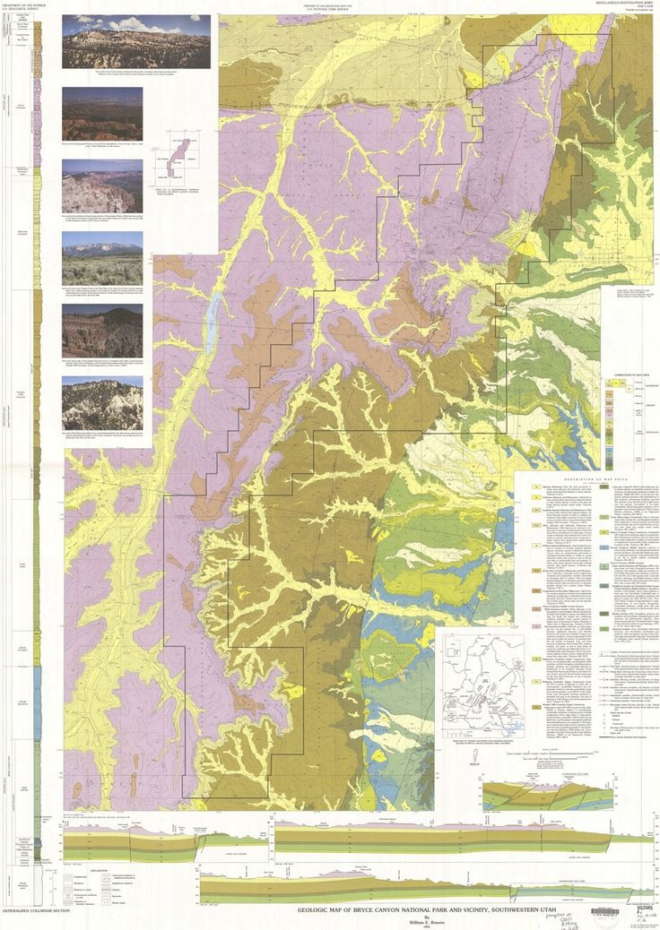 25 Best Ideas About Bryce Canyon Map On Pinterest Grand