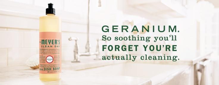 Ahhh, I can smell the geraniums!