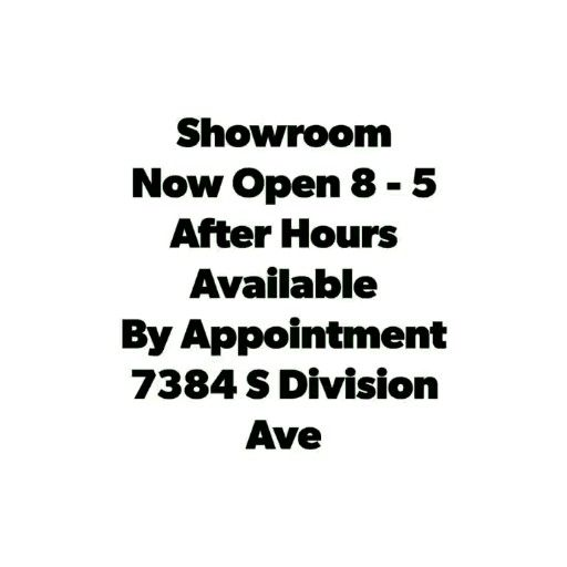 Visit Our Showroom 8am 5pm M F After Hours Appointments