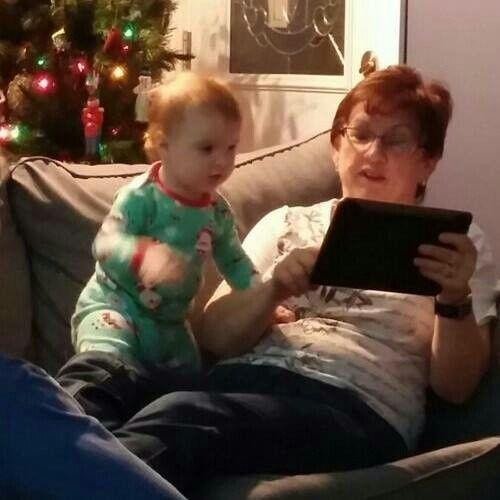 Natalie & me, Christmas 2014