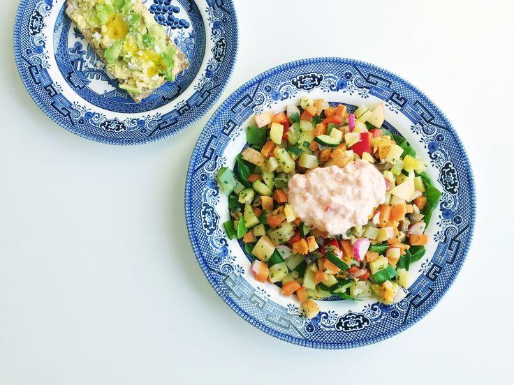 Recept vegetarisk pyttipanna