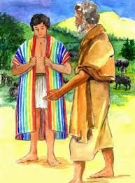 Image result for joseph coat of many colors