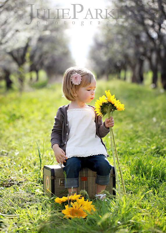 sunflowers....location, location, location