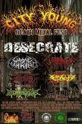 City Young Death Metal Fest Iii - sábado, 5 de julio 2014 - Bogotá - Eventos Rockombia