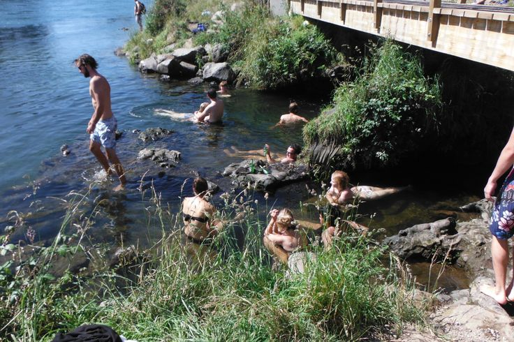 #canoeandkayak #Taupo #hotstream #river #waterfall #backpacking #NewZealand