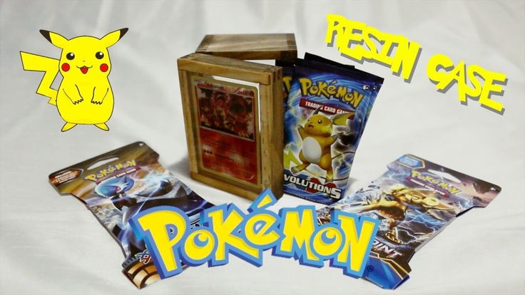 RESIN TRADING CARD STORAGE CASE - YouTube