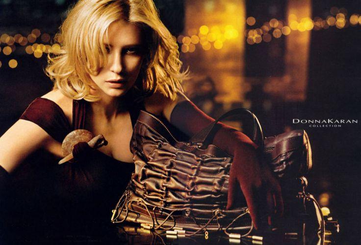 DONNA KARAN FW04 - Kate Blanchett by Peter Linbergh