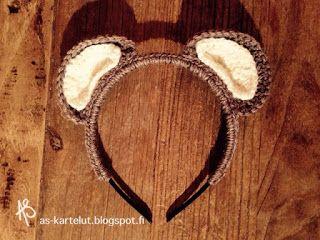 AS-kartelut: Nallepanta #crochet #masquerade