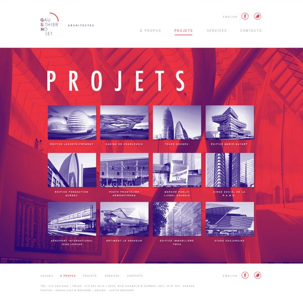 GAUTHIER & NOLET ARCHITECTS on Behance