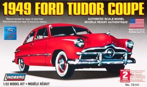 Lindberg [LND] 1:32 1949 Ford Coupe Plastic Model Kit LND72141 #Lindberg