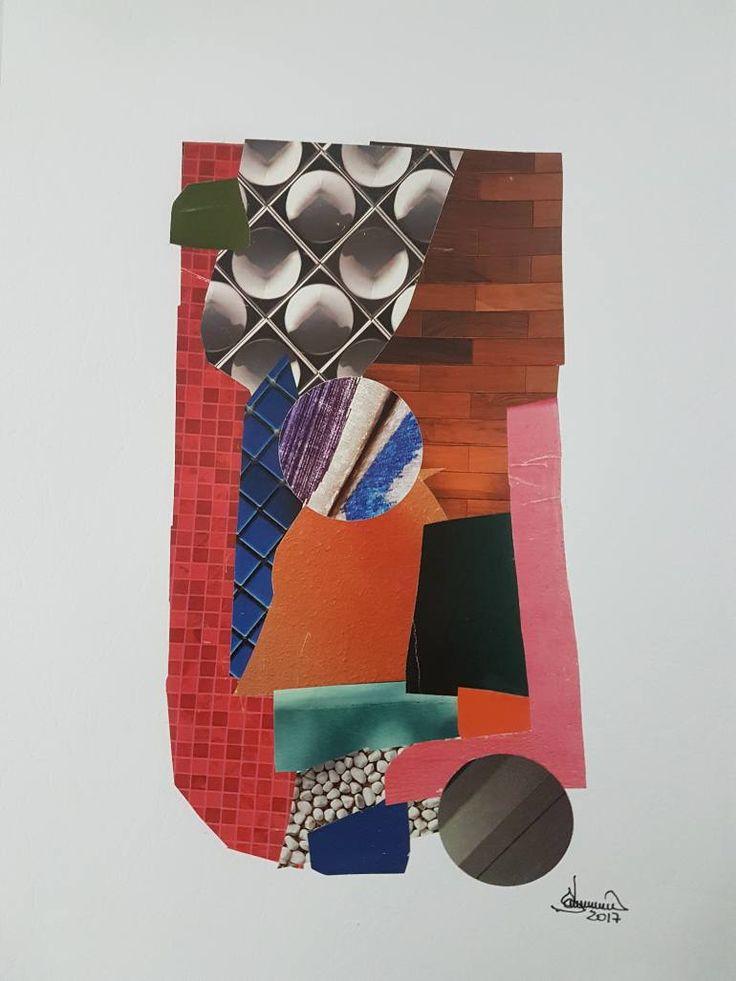 "Saatchi Art Artist Richard Brandão; Collage, ""COMPOSIÇÕES 003"" #art"