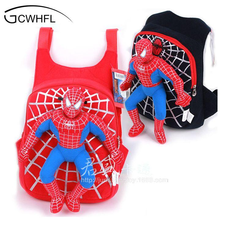 Cute New 3D Spiderman School Bag Boys Backpack Kids Children Cartoon School Bags Backpacks Baby Child Infantil Escolar Mochilas