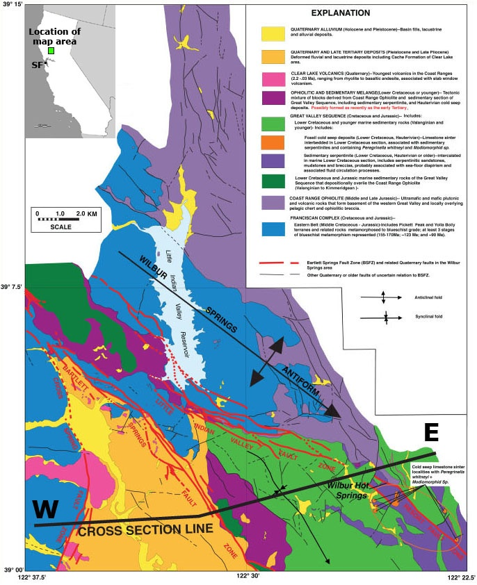 Best Geology Images On Pinterest San Francisco Earthquake - San andreas fault map bay area